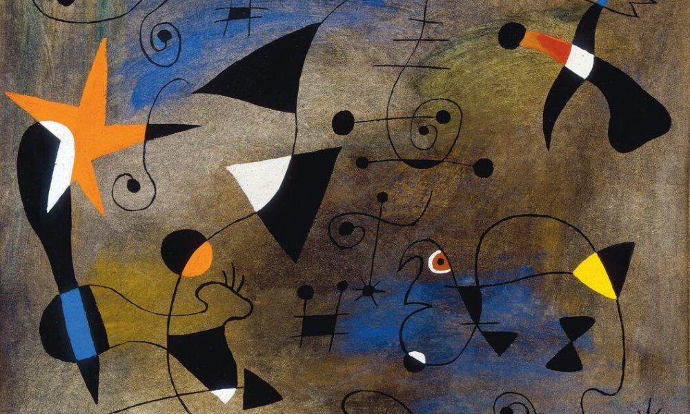 Miro Woman and Birds